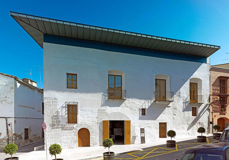 Arav 07 rehabilitaci n de la antigua casa del mestre pe a para sede del museu hist ric de sagunt - Rehabilitacion de casas antiguas ...