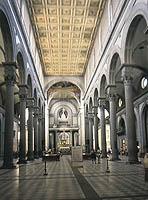 12 138 paseos recorridos movimiento for Interior iglesia san lorenzo brunelleschi